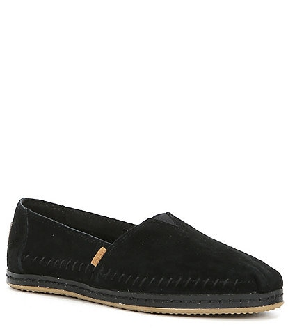 TOMS Alpargata Suede Slip-On Shoes