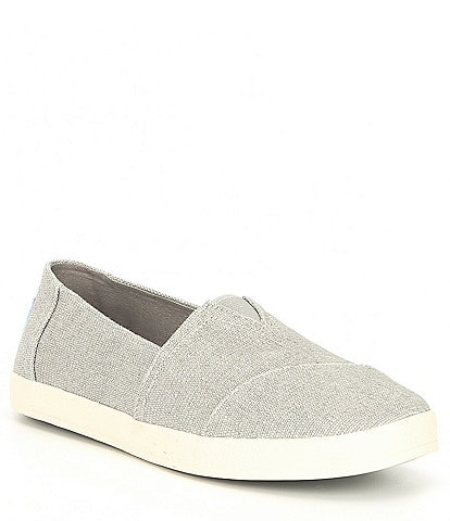 6b5258ea8021 TOMS Avalon Canvas Slip-On Shoes