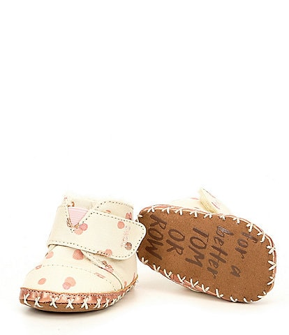 TOMS Girl's Cuna Crib Shoe Bootie