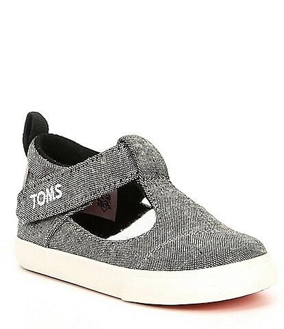 TOMS Girls' Joon Early Walker Crib Shoe