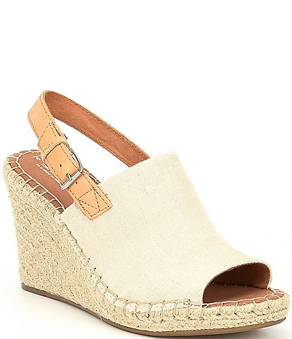 TOMS Monica Hemp Wedge Espadrille Sandals