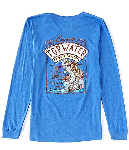 Topwater Camp Topwater Long-Sleeve Graphic T-Shirt