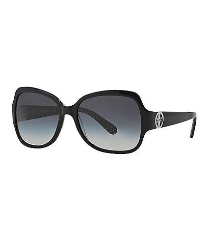 Tory Burch Women's Iconic Logo Sunglasses