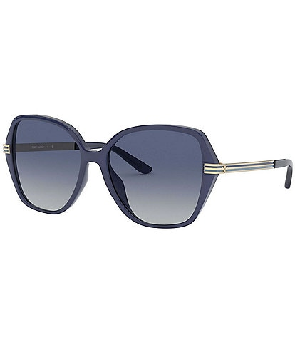 Tory Burch Women's Irregular Sunglasses