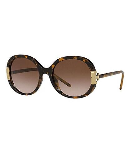 Tory Burch Women's Ty9061u Oval 57mm Sunglasses