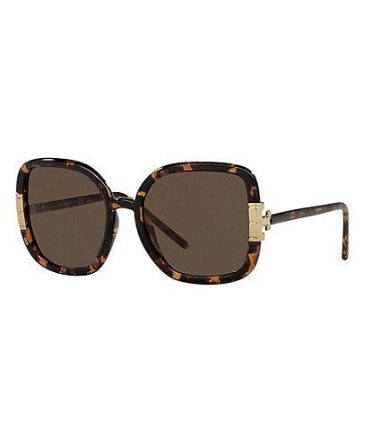 Tory Burch Women's Ty9063u Square 56mm Sunglasses