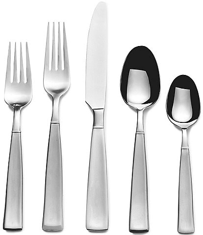 Towle Silversmiths 53-Piece Satin Balance Stainless Steel Flatware Set