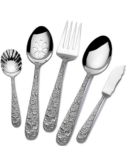 Towle Silversmiths Contessina Floral 5-Piece Serving Set