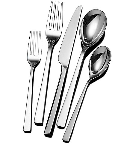 Towle Silversmiths Luxor 20-Piece Stainless Steel Flatware Set