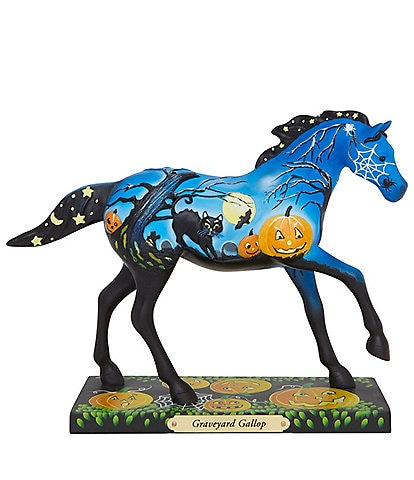 Trail Of Painted Ponies Graveyard Gallop Figurine