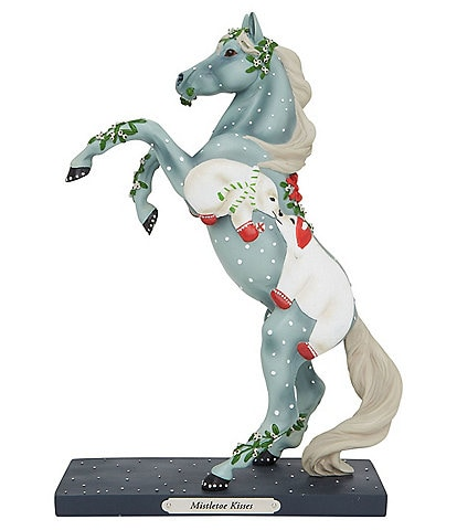 Trail Of Painted Ponies Mistletoe Kisses Figurine