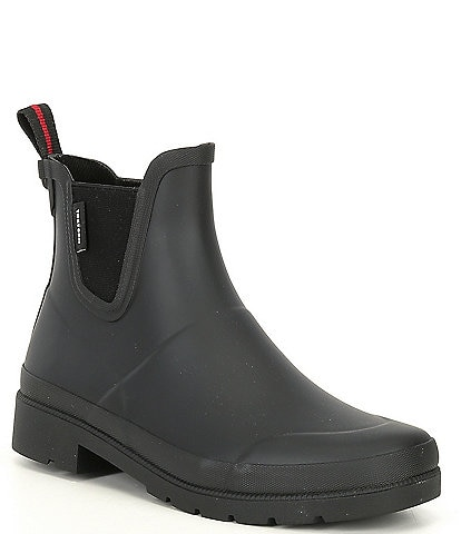 Tretorn Women's Lina Slip-On Waterproof Rain Booties