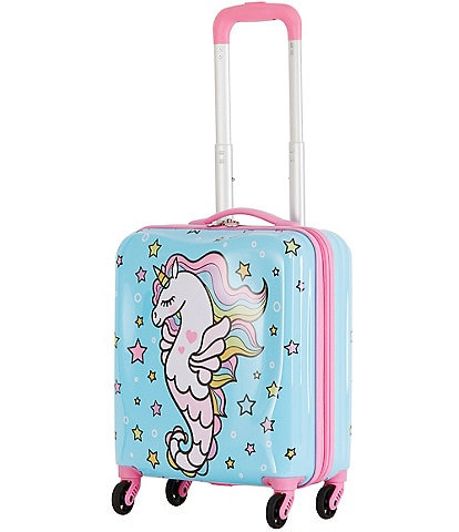 Triforce Kid's Unicorn Mermaid Carry-On Spinner