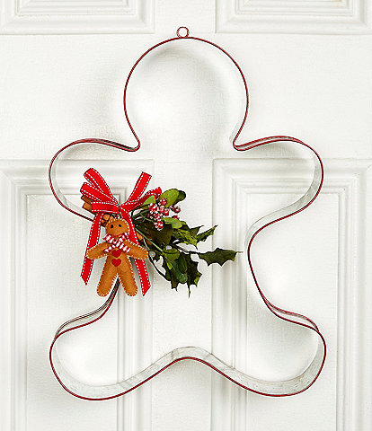 Trimsetter Baking Spirits Bright Collection Large Gingerbread Cookie Cutter Wall Decor