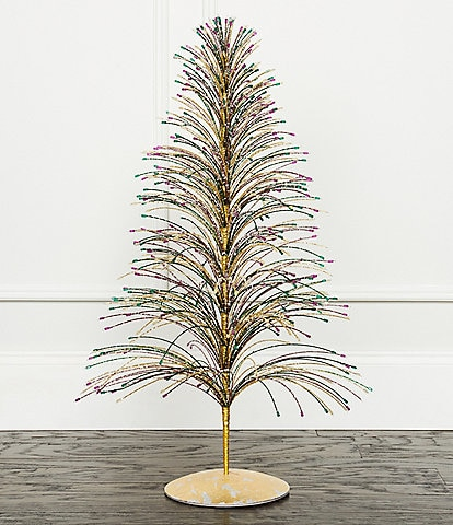 Trimsetter Crescent City Christmas Collection Waterfall Spray Christmas Tree Decor