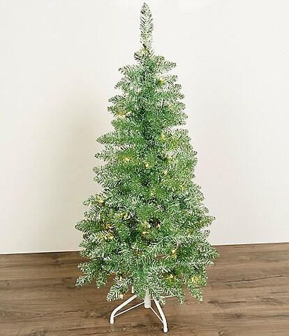 Trimsetter Green Pre-Lit 4-ft. Christmas Tree