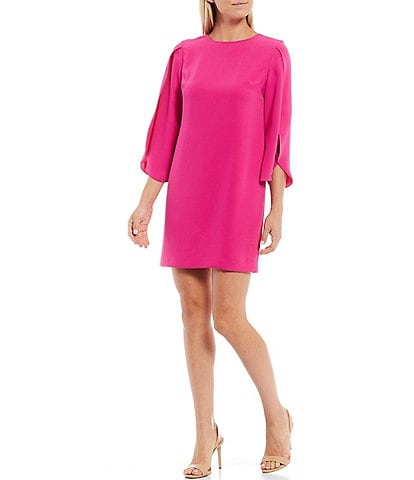 Trina Turk Battista 3/4 Tulip Sleeve Sheath Dress