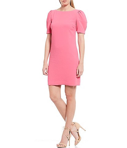Trina Turk Bloom Puff Sleeve Sheath Dress
