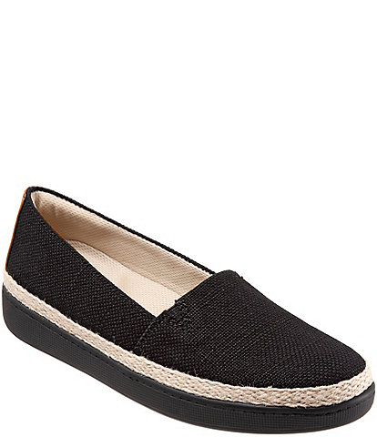 Trotters Accent Canvas Espadrille Slip-Ons