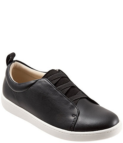 Trotters Avrille Leather Slip-On Sneakers