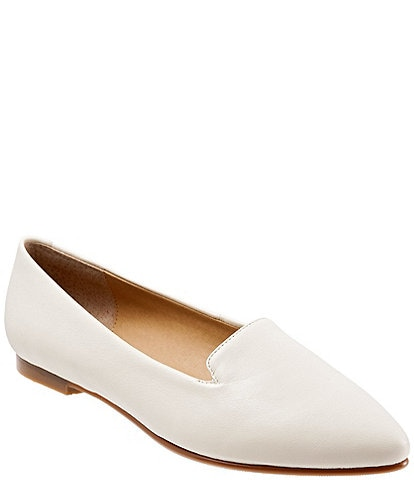 Trotters Harlowe Leather Flats