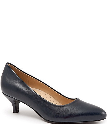 Trotters Kiera Leather Pumps