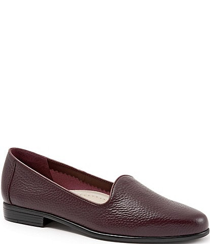 Trotters Liz Tumbled Leather Flats