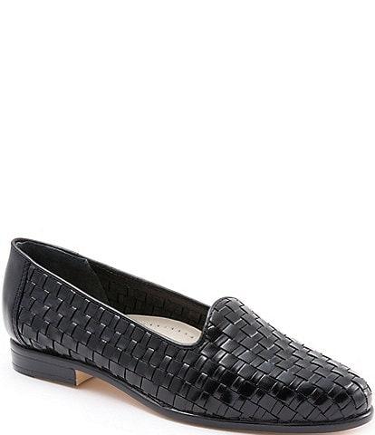 Trotters Liz Woven Block Heel Loafers