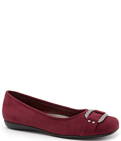 Trotters Sizzle Suede Signature Flats
