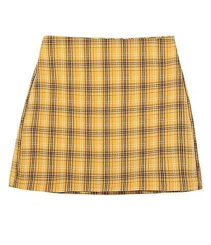 Truce Big Girls 7-16 A-Line Plaid Skirt