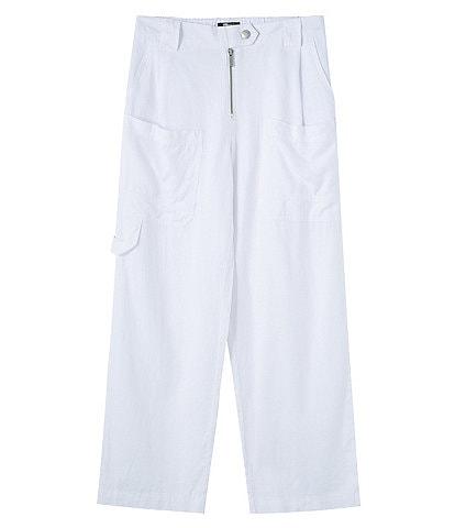 Truce Big Girls 7-16 Cargo Linen Pants