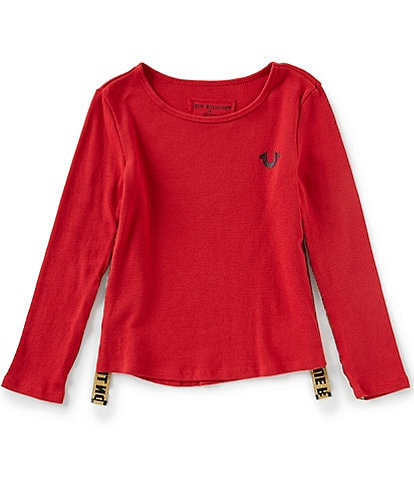 True Religion Big Girls 7-16 Long Sleeve Thermal Tee