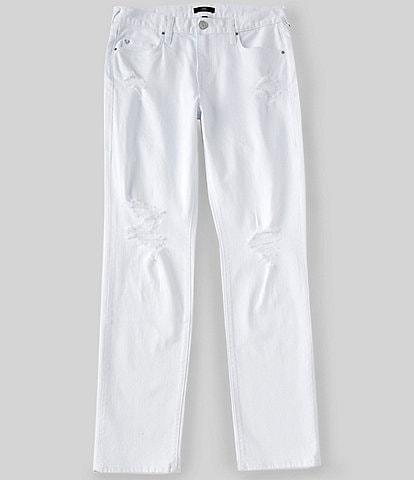 True Religion Geno Destructed Slim Fit Jeans