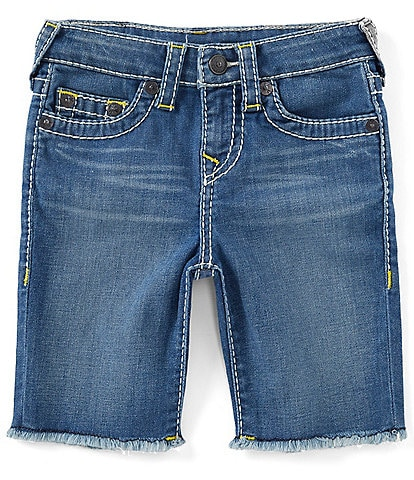 True Religion Little Boys 2T-7 Geno Cut-Off Denim Shorts