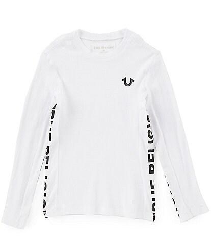True Religion Little Boys 2T-7 Long Sleeve Zipper Tee