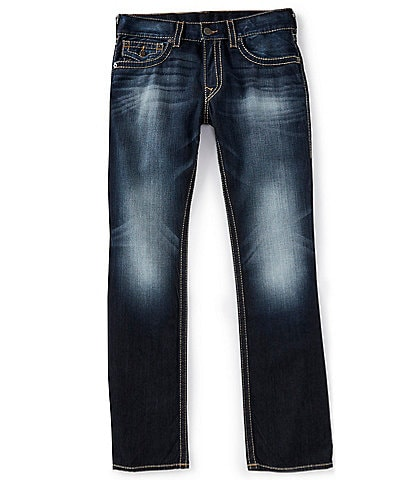 True Religion Ricky Big T Relaxed Straight Jeans