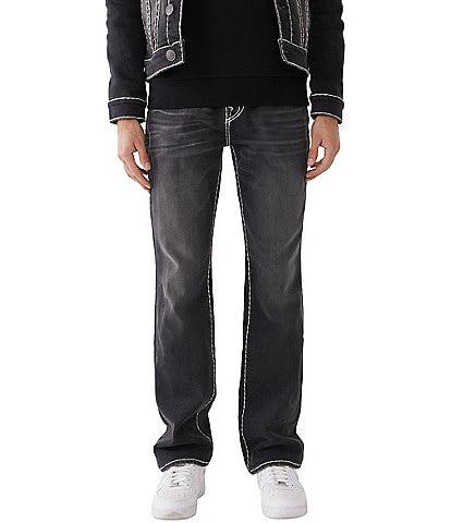 True Religion Ricky Button-Flap-Pocket Super-T Jeans