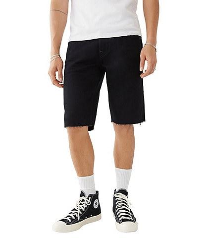True Religion Ricky No-Flap 13#double; Inseam Denim Shorts