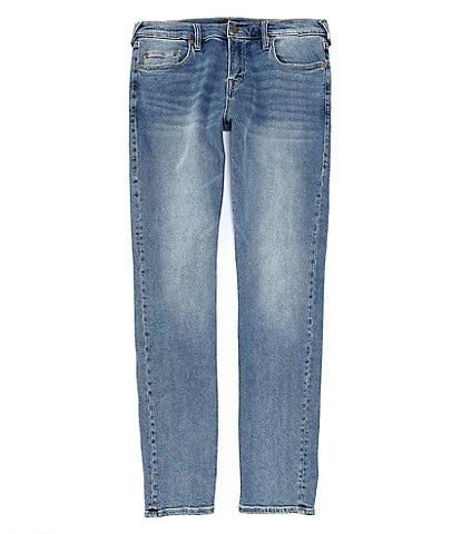 True Religion Rocco Horseshoe Flap-Pocket Skinny-Fit jeans