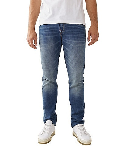 True Religion Rocco Skinny-Fit Relaxed Denim Jeans