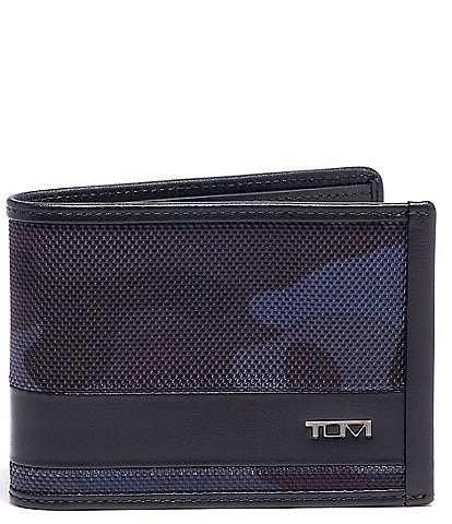Tumi Alpha Camo Double Billfold Wallet