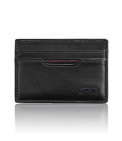 dee44d16e727 Tumi ID Lock Contrast Stitching Slim Card Case