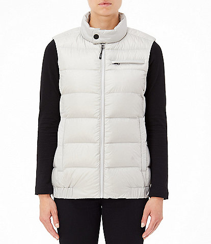 Tumi Pax Packable Down Stand Collar Vest