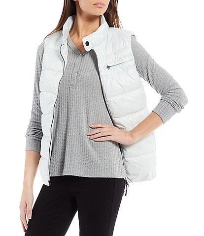 Tumi Pax Water Resistant Packable Down Puffer Vest