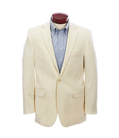 Turnbury Classic Fit Solid Wool Blend Sportcoat