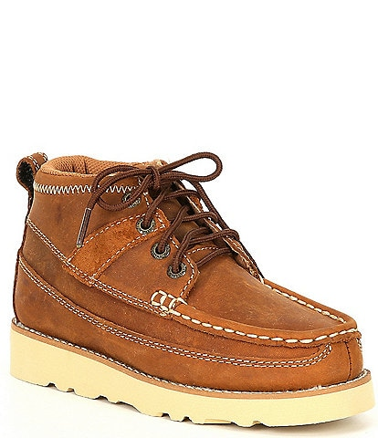 Twisted X Boys' Wedge Sole Boots (Toddler)