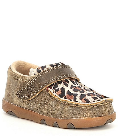 Twisted X Girls' Driving Moc (Infant)