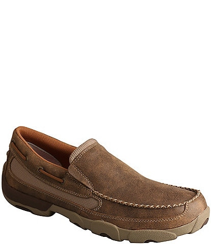 Twisted X Men's Driving Moc Leather Slip On