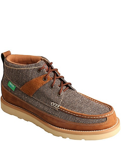 Twisted X Men's ECO Moc Toe Lace Up Boot
