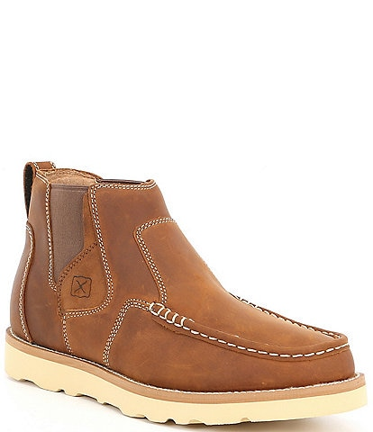 Twisted X Men's Pull On Moc Toe Leather Boot